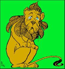 Cowardly Lion, Wizard of OZ