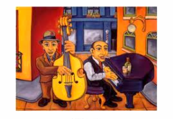 Alley Cats, RAFUSE  Art work in my lounge collection......sharing the conversation of Yellow.
