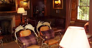 Prestonfield House - Whisky Room   Edinburgh, Scotland