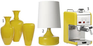 1. Vases       2. Lamps     3. Espresso Machine