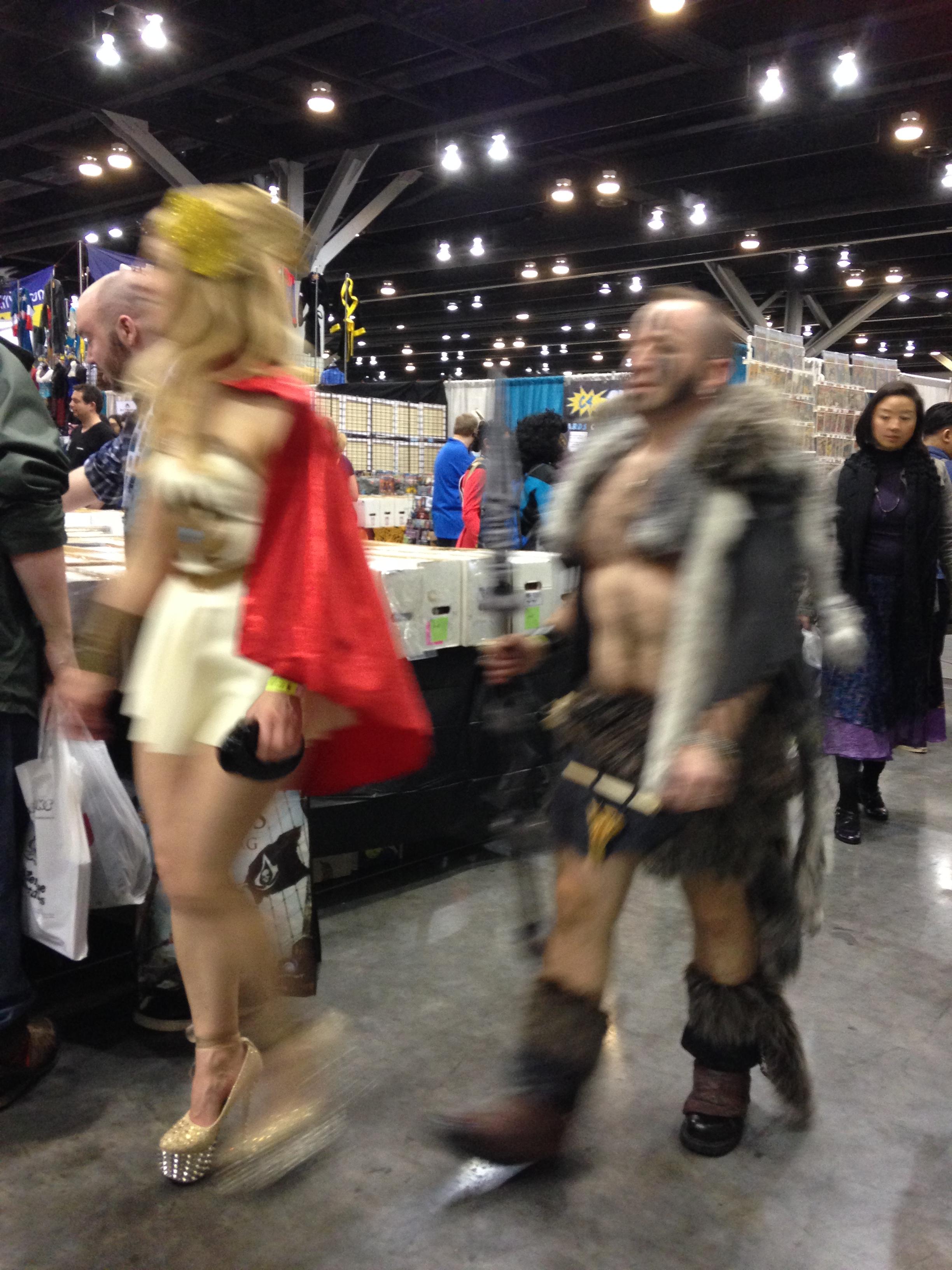 Roman warriors........