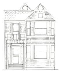 Drawing Plans Victorian
