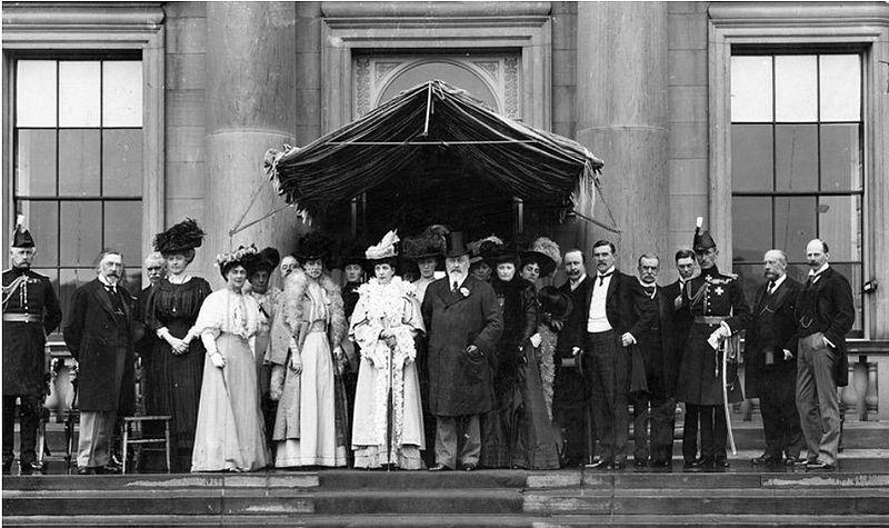 Countess Grey and Governor Earl Grey -