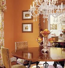 Dining Room with walls in Samovar by Pratt & Lambert