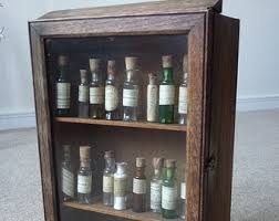 Wooden Pharmacy Cabinet