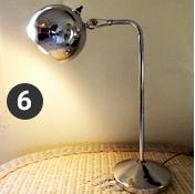 The Globe Lamp, aka the silver eyeball!