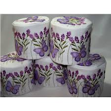 Also the era of Designer Toilet paper....remember!