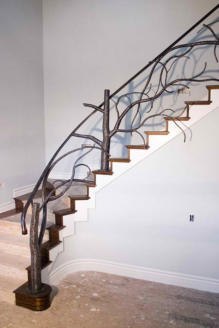 Custom Tree Spindal