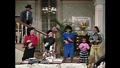 The stage stairs on The Cosby Show
