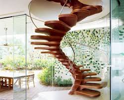 Modern/Contemporary Spiral floating