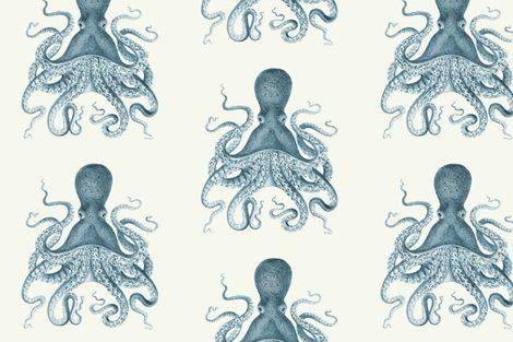 Octo-wallpaper as an accent wall or even framed as a gallery wall!