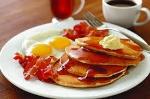 Pancakes n ' Coffee.