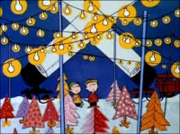 Charlie Brown at the Tree Lot