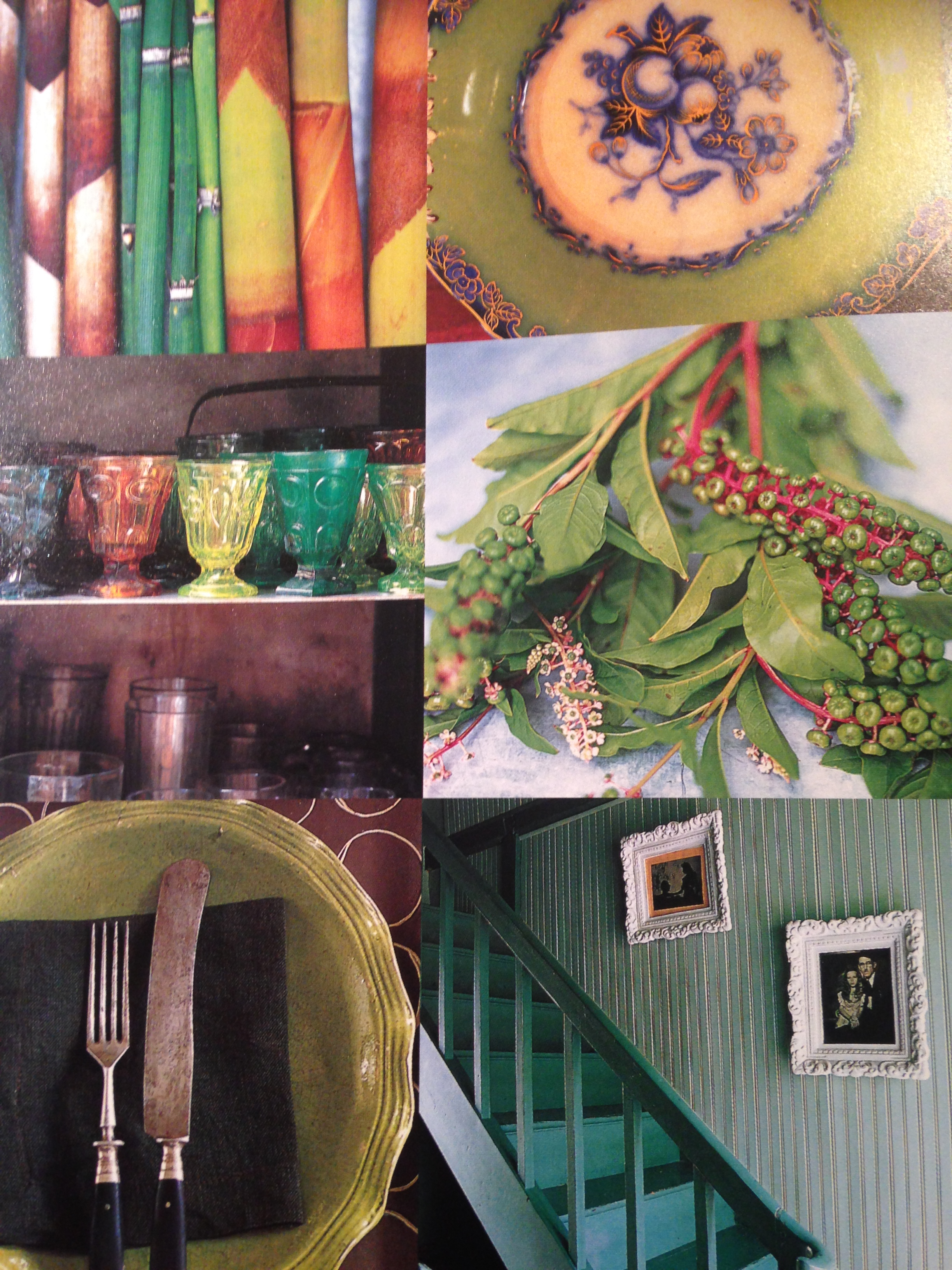 Inspire Photos from the pages of Perfect Palettes