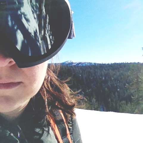 Skiing in the Sierras