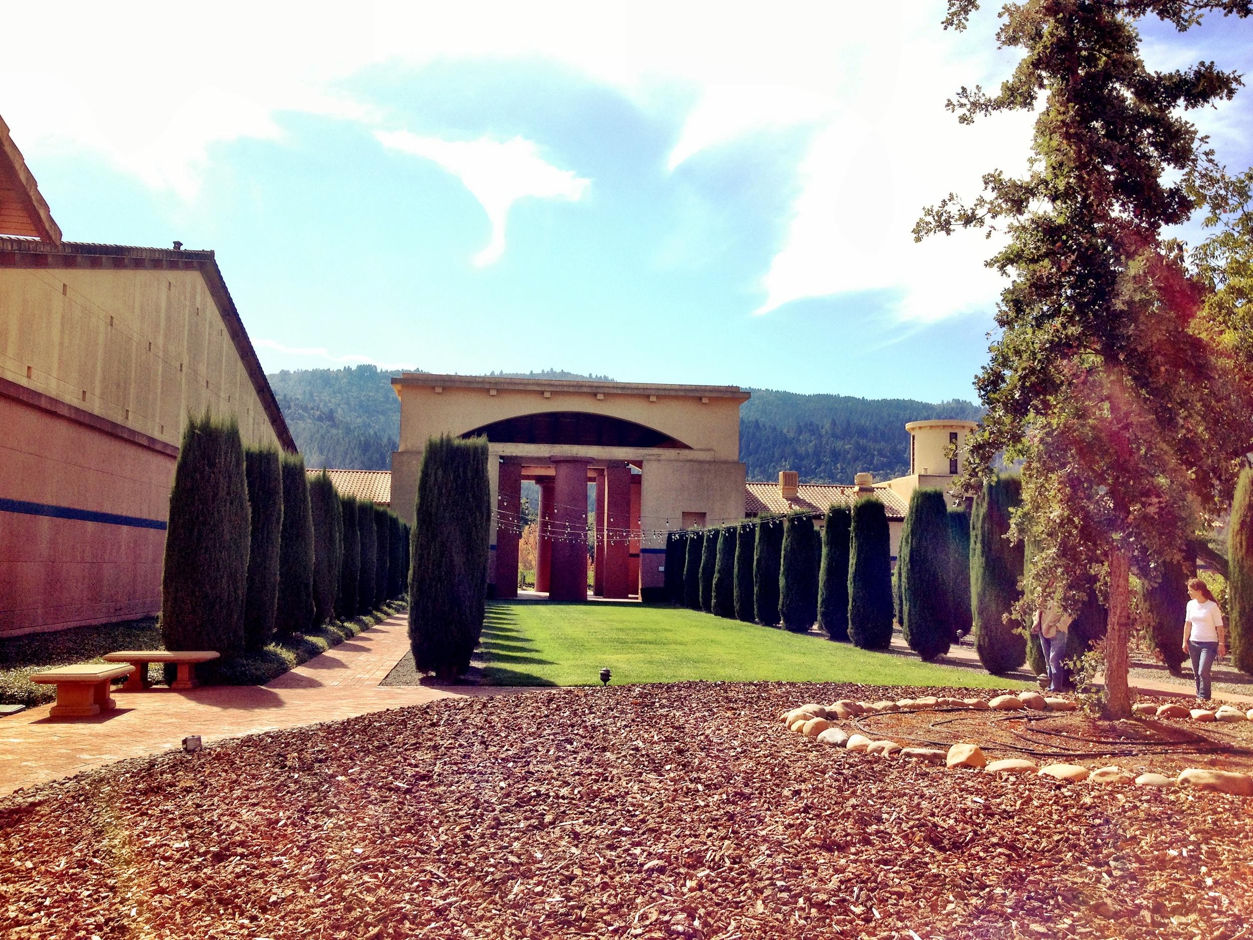 Winery Clos Pegase California Napa