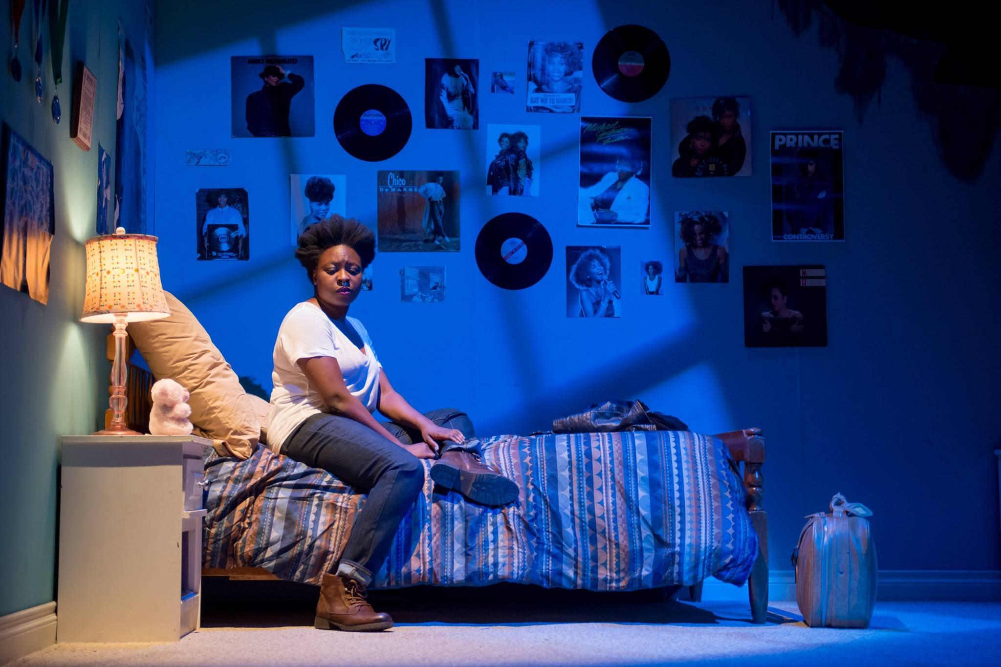How Black Mothers Say I Love You, Factory Theatre Dir: Trey Anthony, LD: Steve Lucas, Actor: Khadijah Roberts-Abdullah