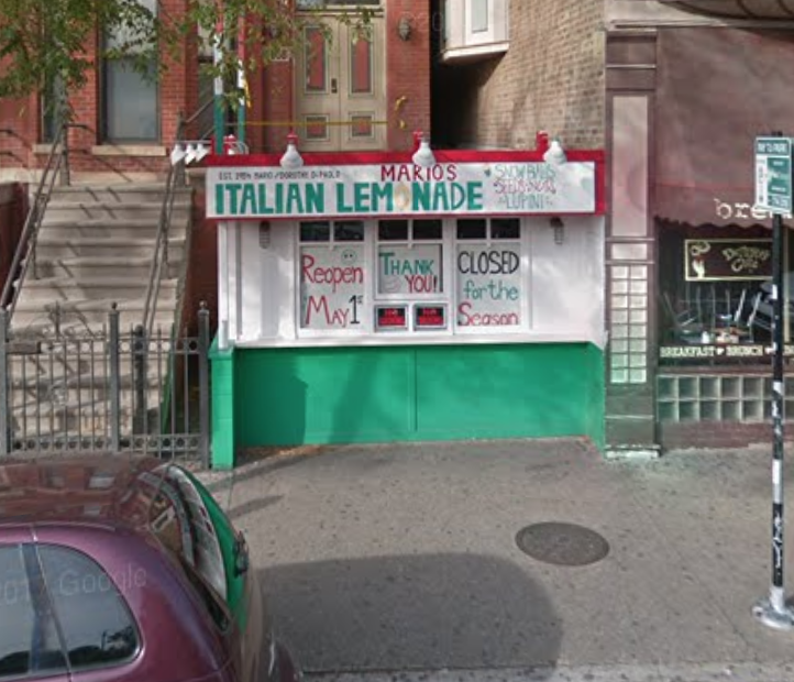 Thanks for the Street View Google!