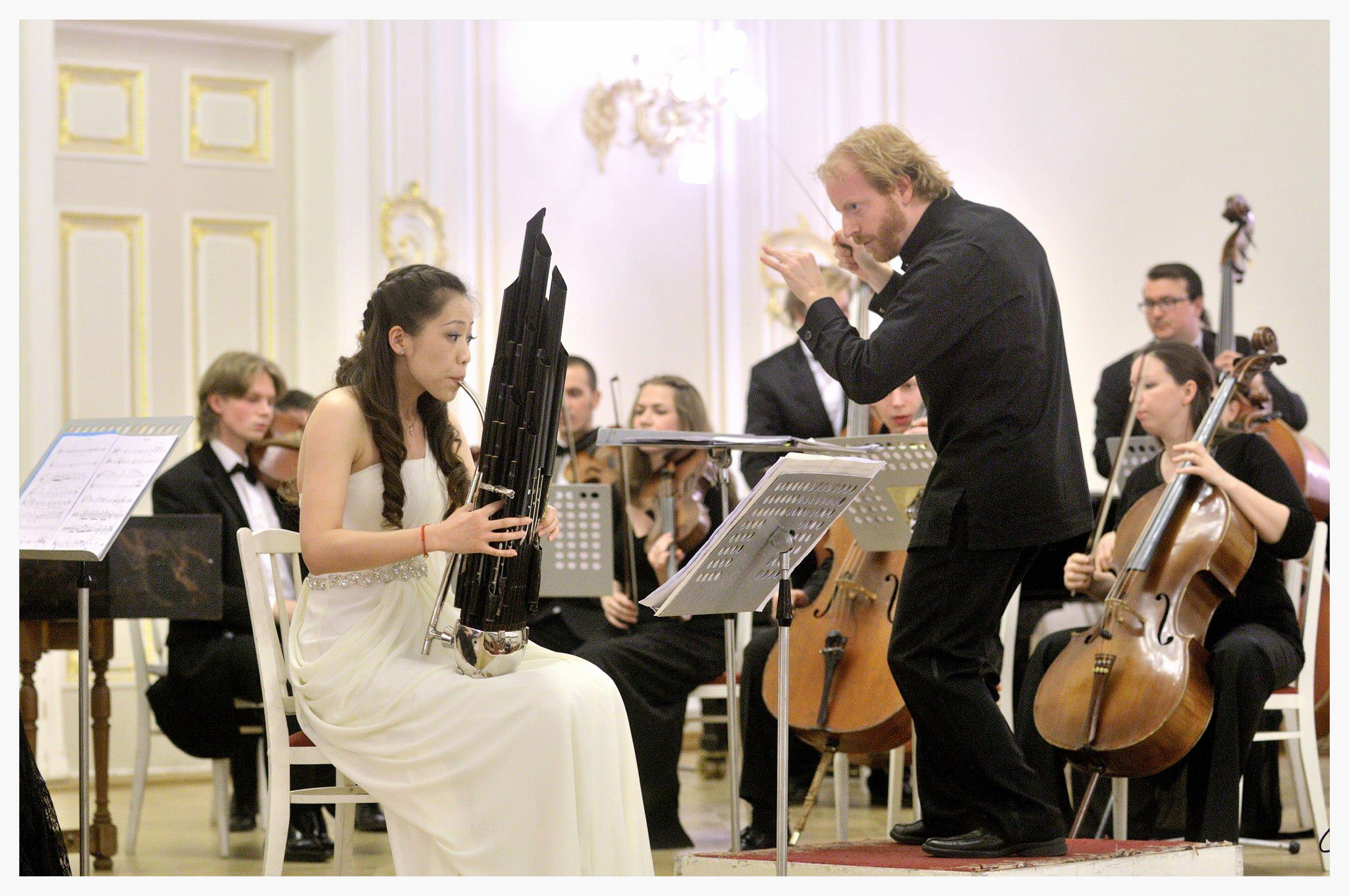 - St. Petersburg's preeminent orchestral ensemble for contemporary performance, progressive programming, and outstanding emerging talent.