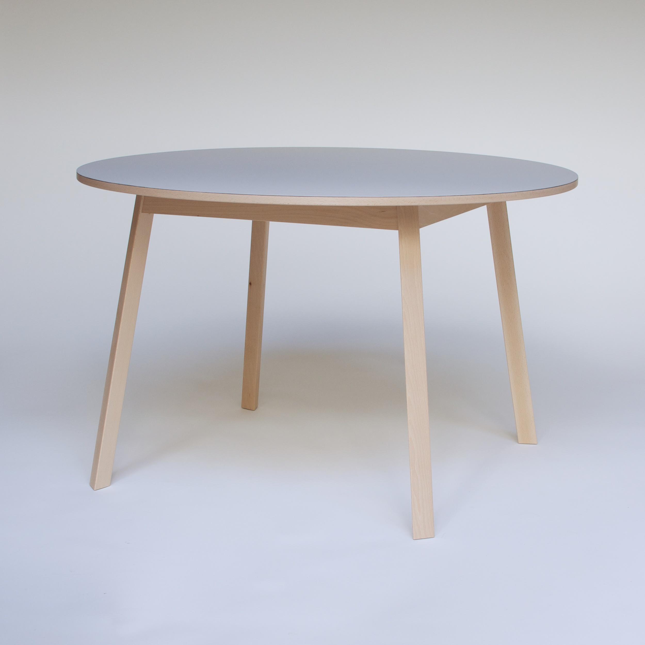 Triangle Leg Table 6