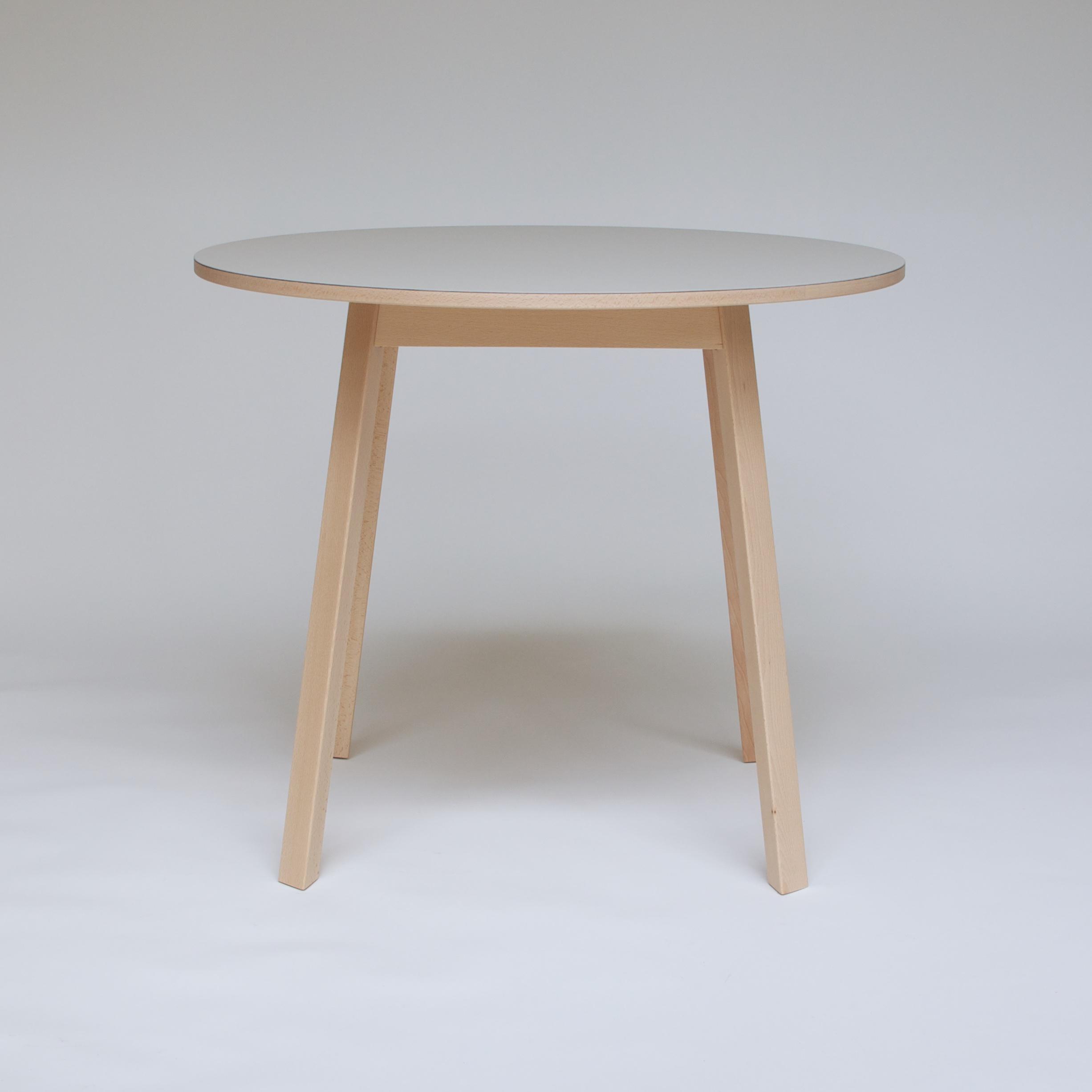 Triangle Leg Table 3