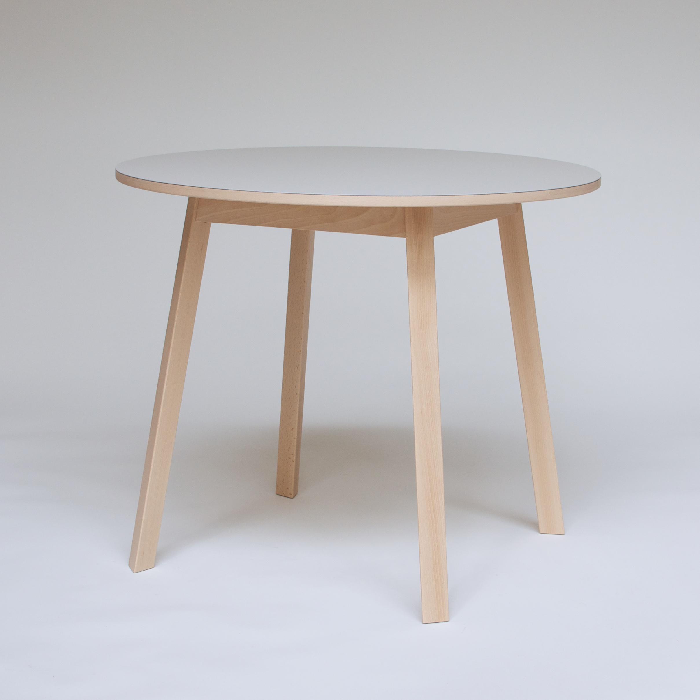Triangle Leg Table 4
