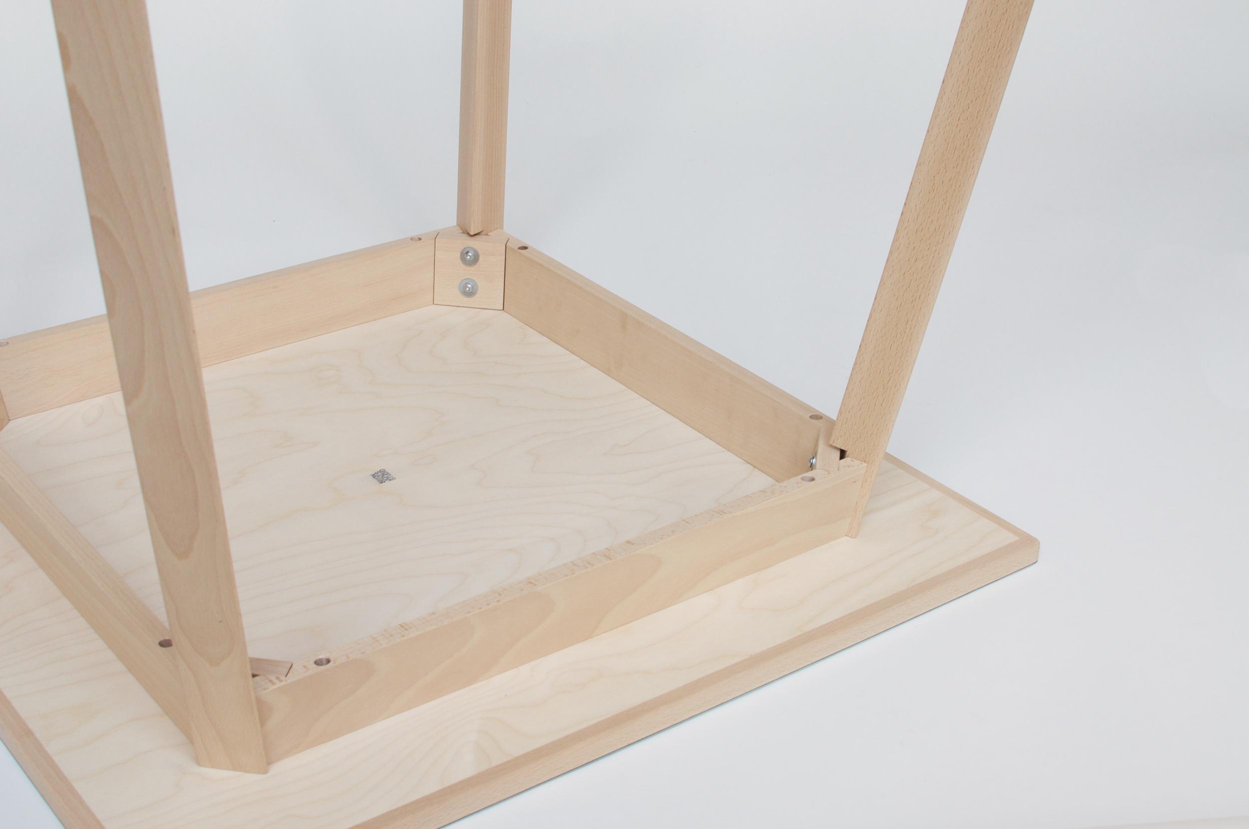 Triangle Leg Table 10