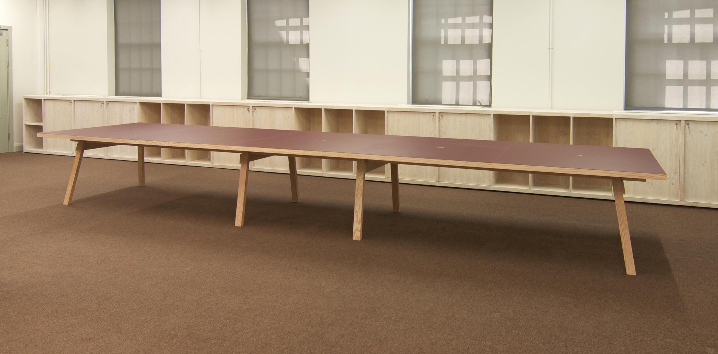 639 long work table