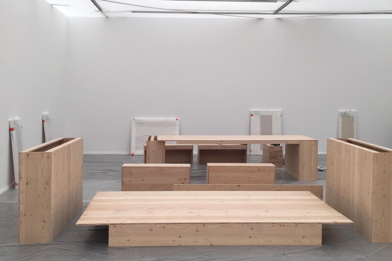 Karsten Schubert Frieze Masters Setup