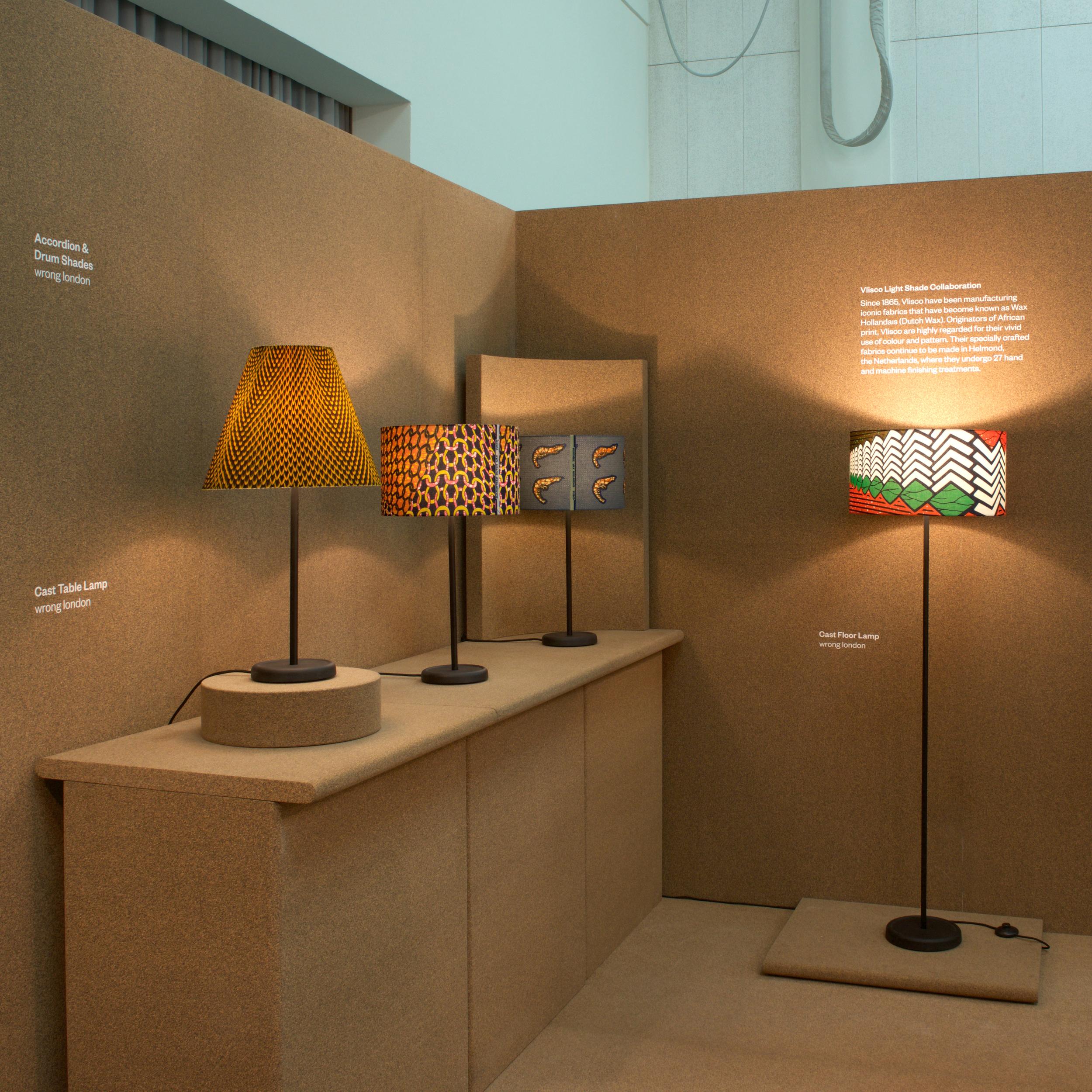 183 Cast lamps