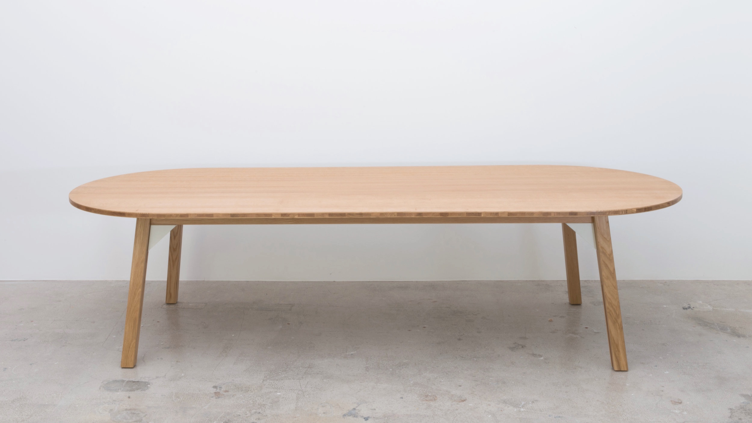 Bracket table Long Rounded 1200 x 3000 x 740H