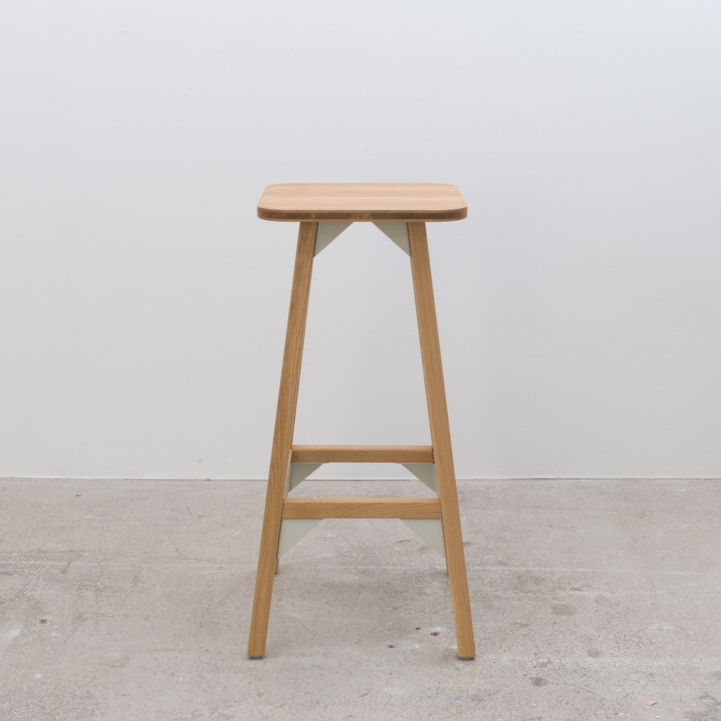 Tall stool 350 x 350 x 750H