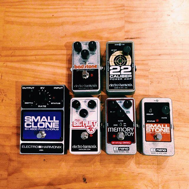 @ehxnyc back in stock!  #electroharmonix #gotchorus #nirvana