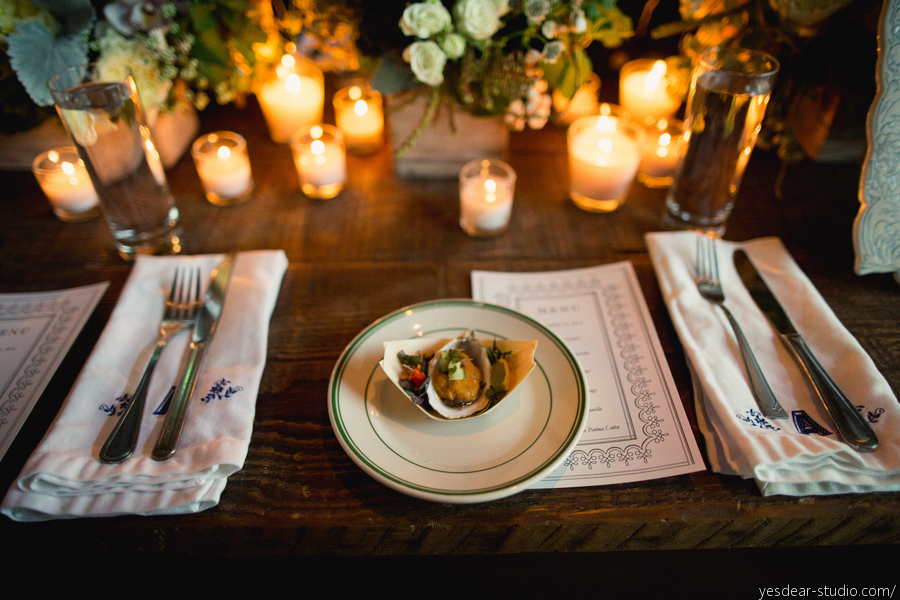 Fleet Collection Dinner Party, catering by Hungry Bear Catering Co., photography by Yes, Dear. Studio