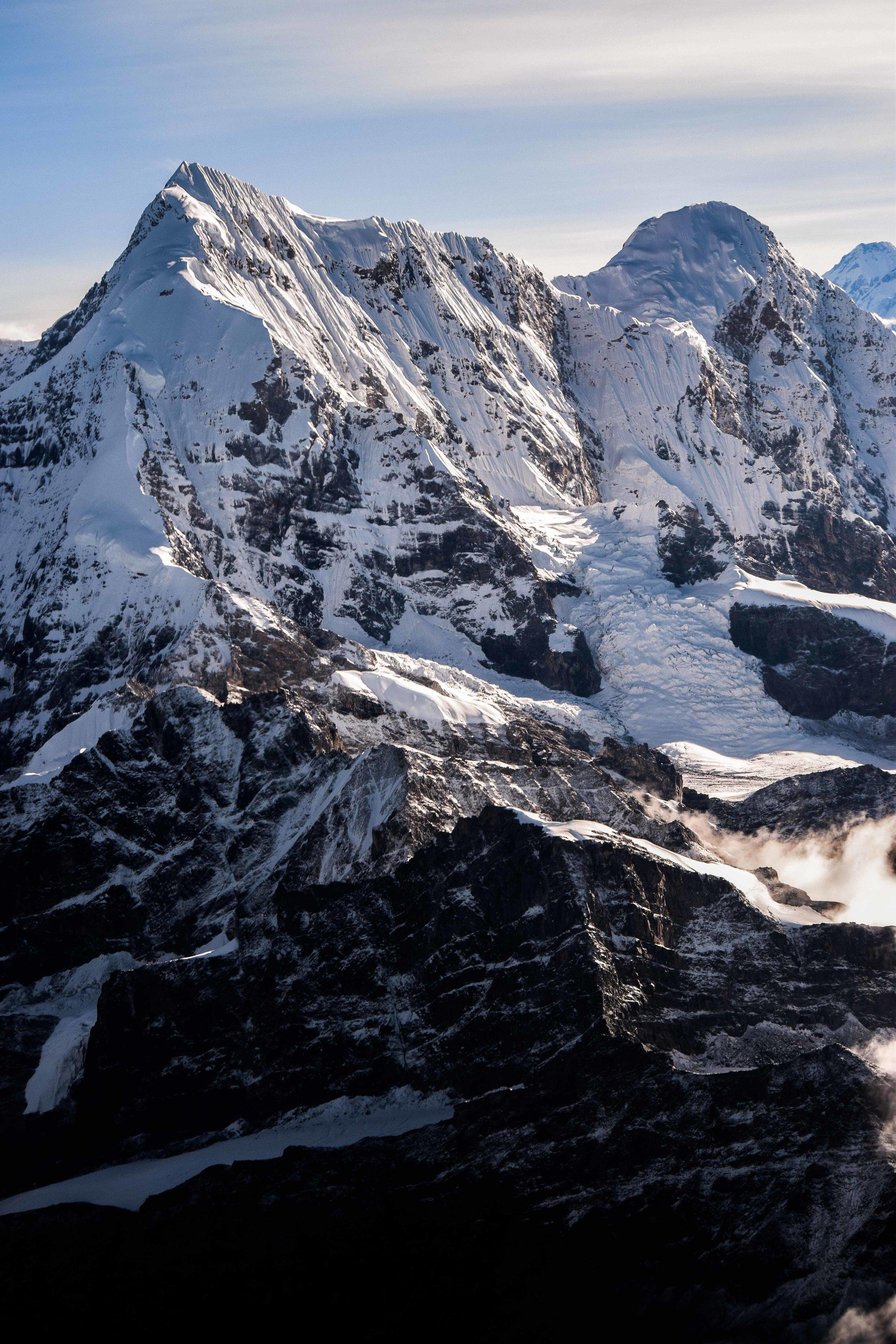 Gyachungkang Cliffs