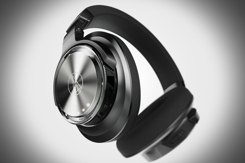 """Truly"" Digital Headphone, Audio Technical DSR9BT, credit  Audio Technica"
