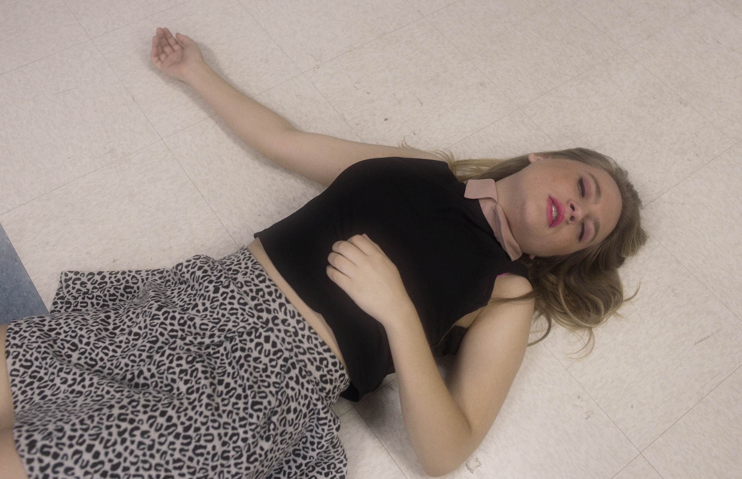 Emily (Jayna Sweet) is on the verge of sacrifice for the girls.
