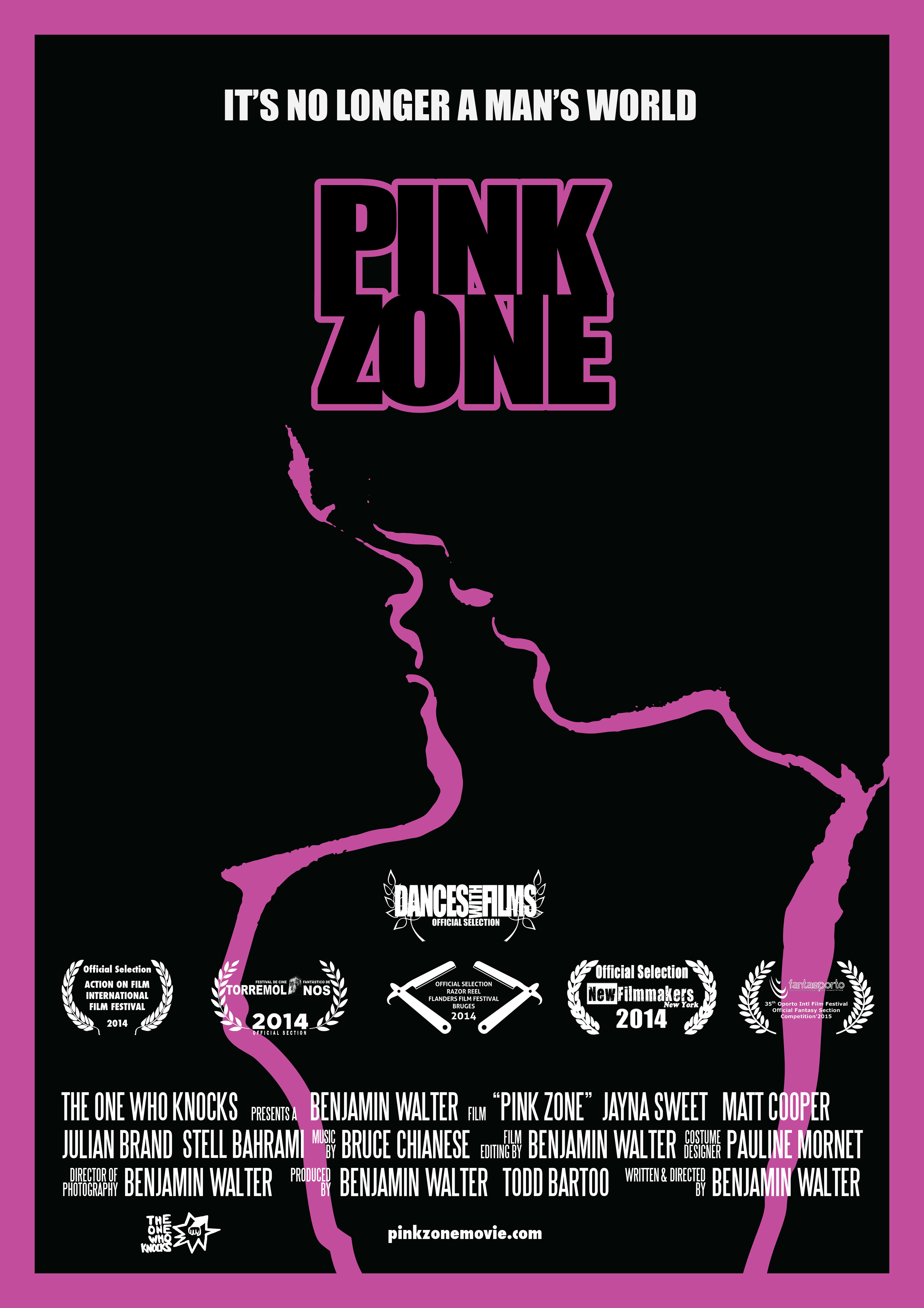 PINK ZONE FESTIVALS POSTER