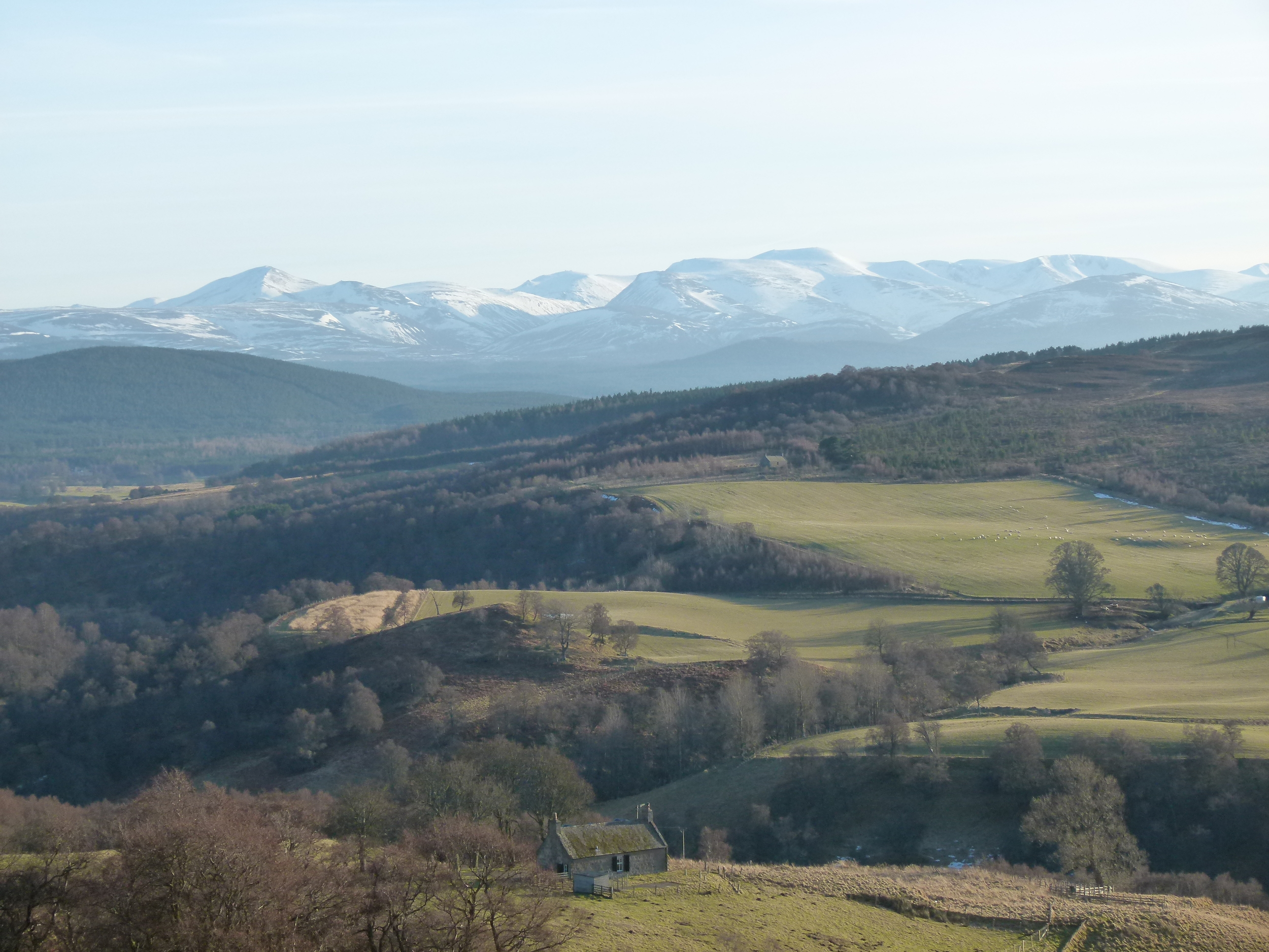 Views over Cairngorm Mountains