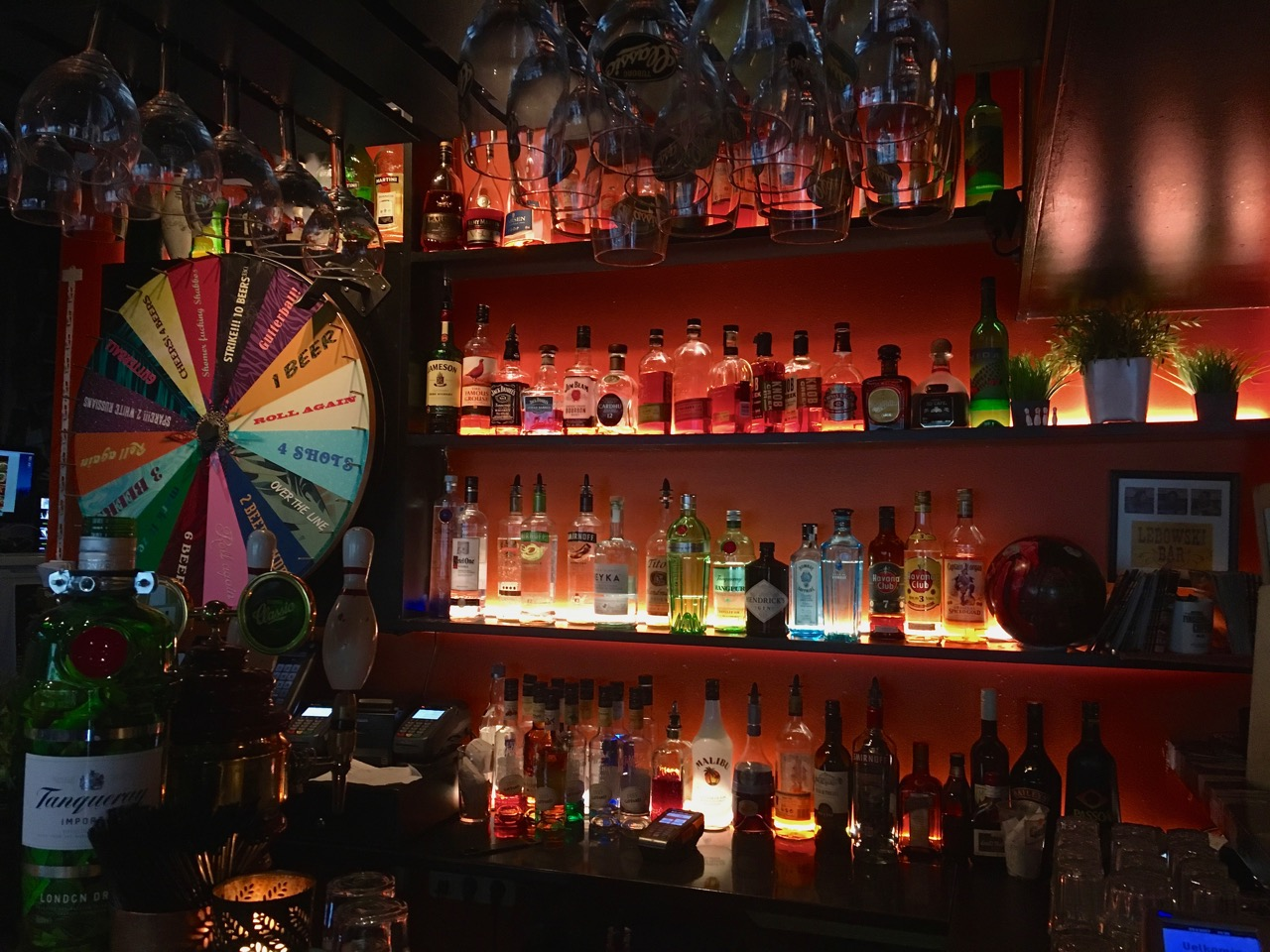 Feeling lucky? Spin the wheel in a Reykjavik bar and see how many beers YOU win