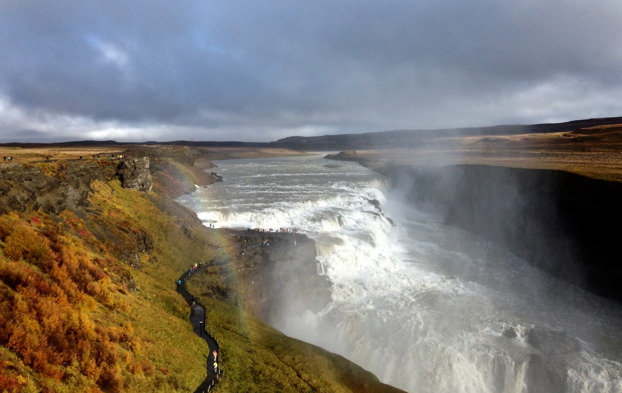 Gullfoss Waterfall, part of the Golden Circle Tour