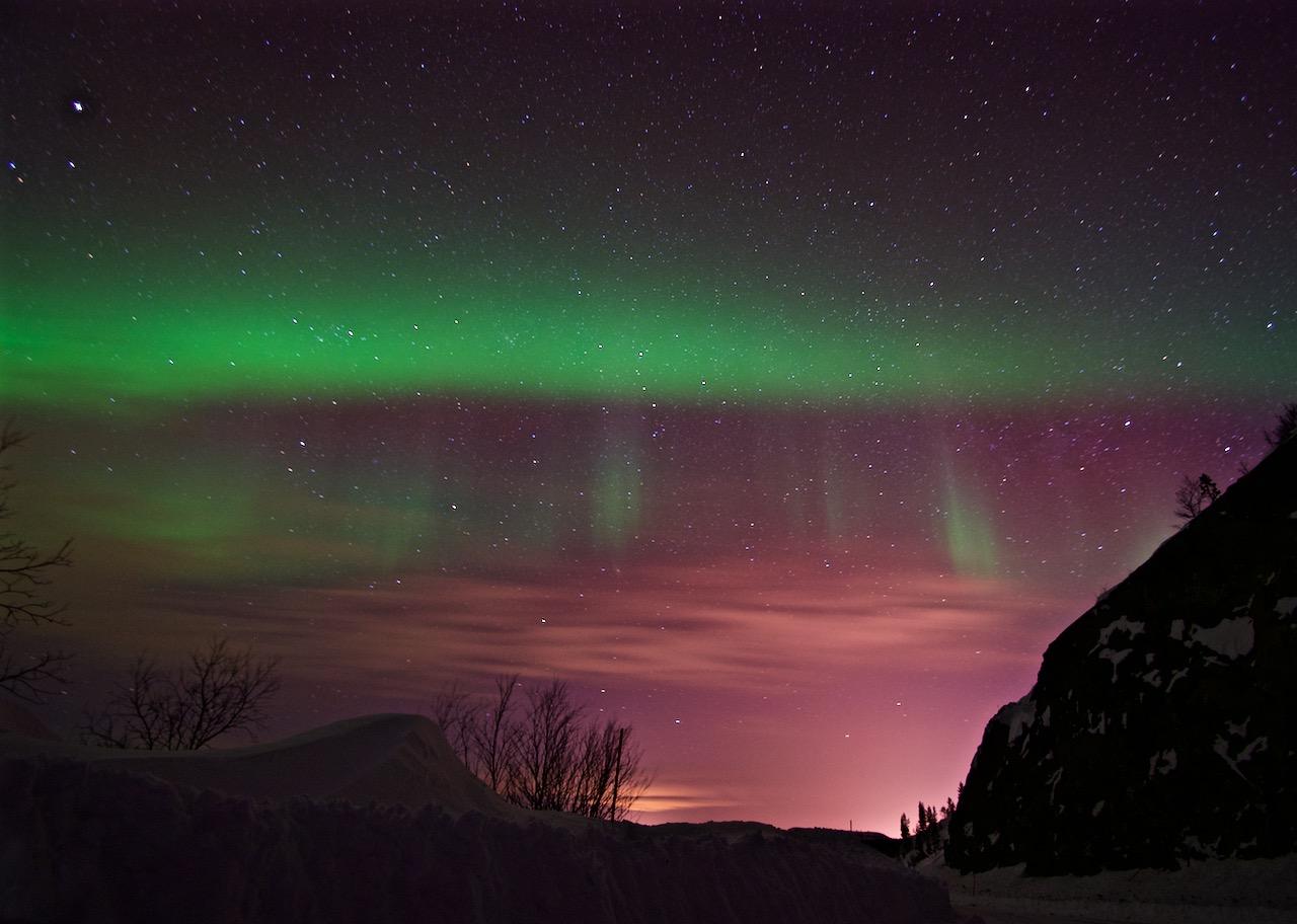 Northern Lights - Kirkenes, Norway