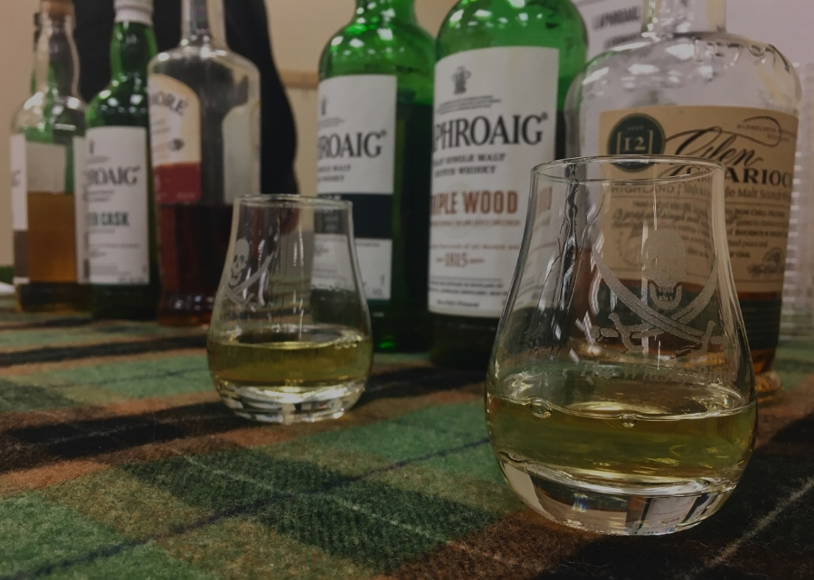 Laphroaig, Bowmore and Glen Garioch are only a handful of the many great whiskies Simon Brooking represents by the Beam-Suntory company