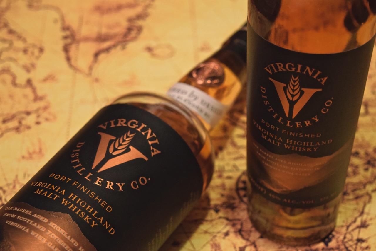 Virginia Distillery Company Highland Malt Batch 4 and Batch By Design Loch and K(e)y Exclusive