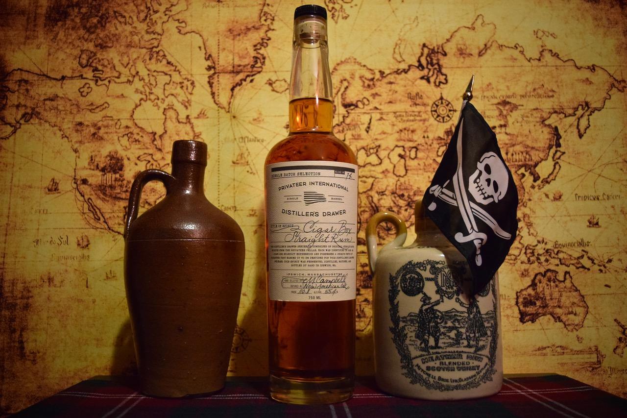 "Privateer Distiller's Drawer Series ""Cigar Box"""