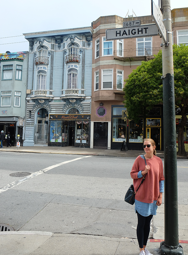 checking out Haight-Ashbury