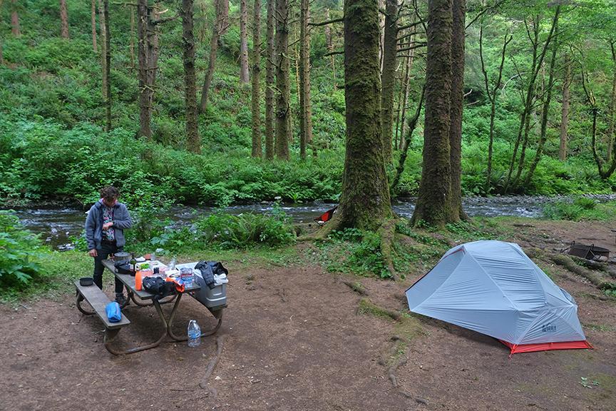 Rock Creek campsite