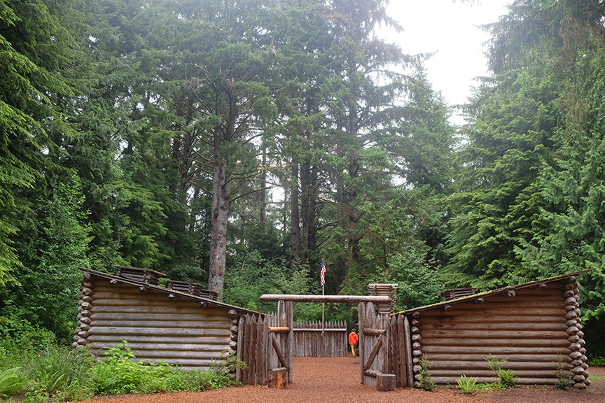 Fort Clatsop at Lewis and Clark National Historical Park