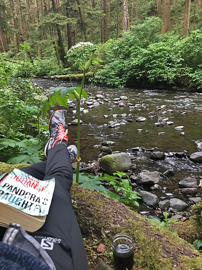 Morning reading spot view