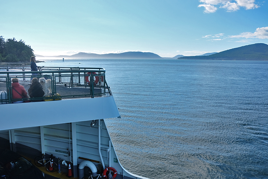 Ferry to Lopez Island
